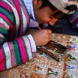 Молодой миниатюрист