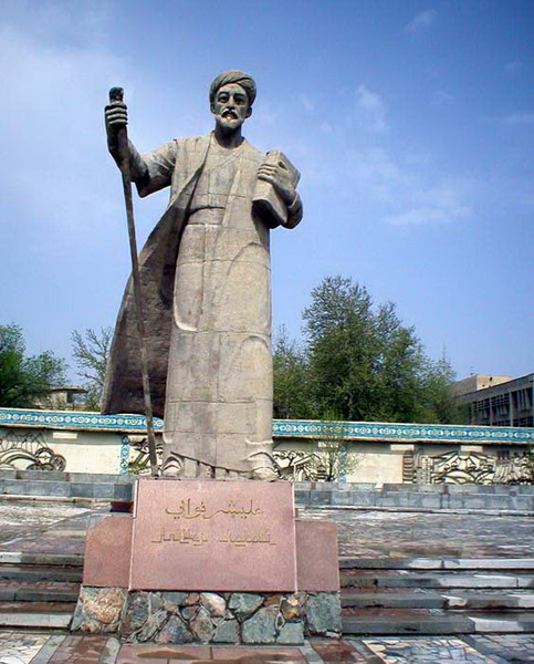 Гулистан, Памятник Алишеру Навои