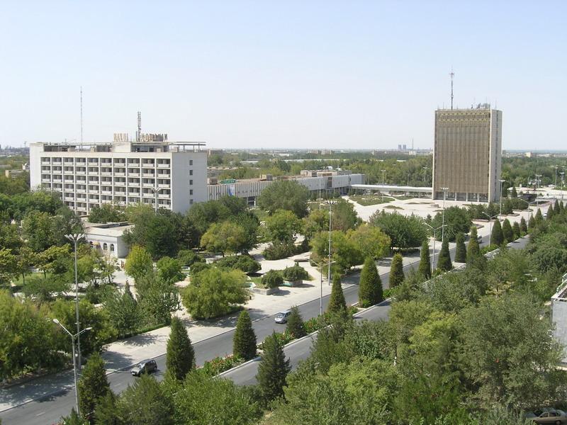 Узбекистан город Навои