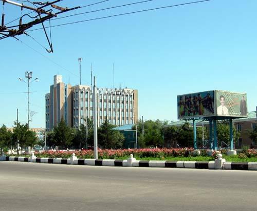 г. Наукус, Здание Мин. Связи