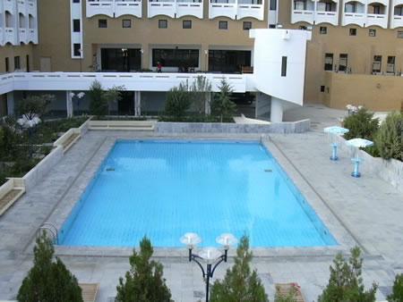 г. Самарканд, гостиница Афросиаб